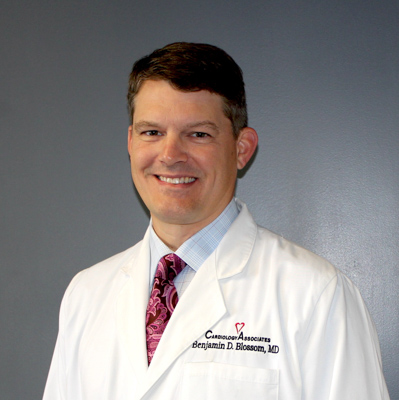 Benjamin D  Blossom, M D , FACC | Cardiology Associates of North